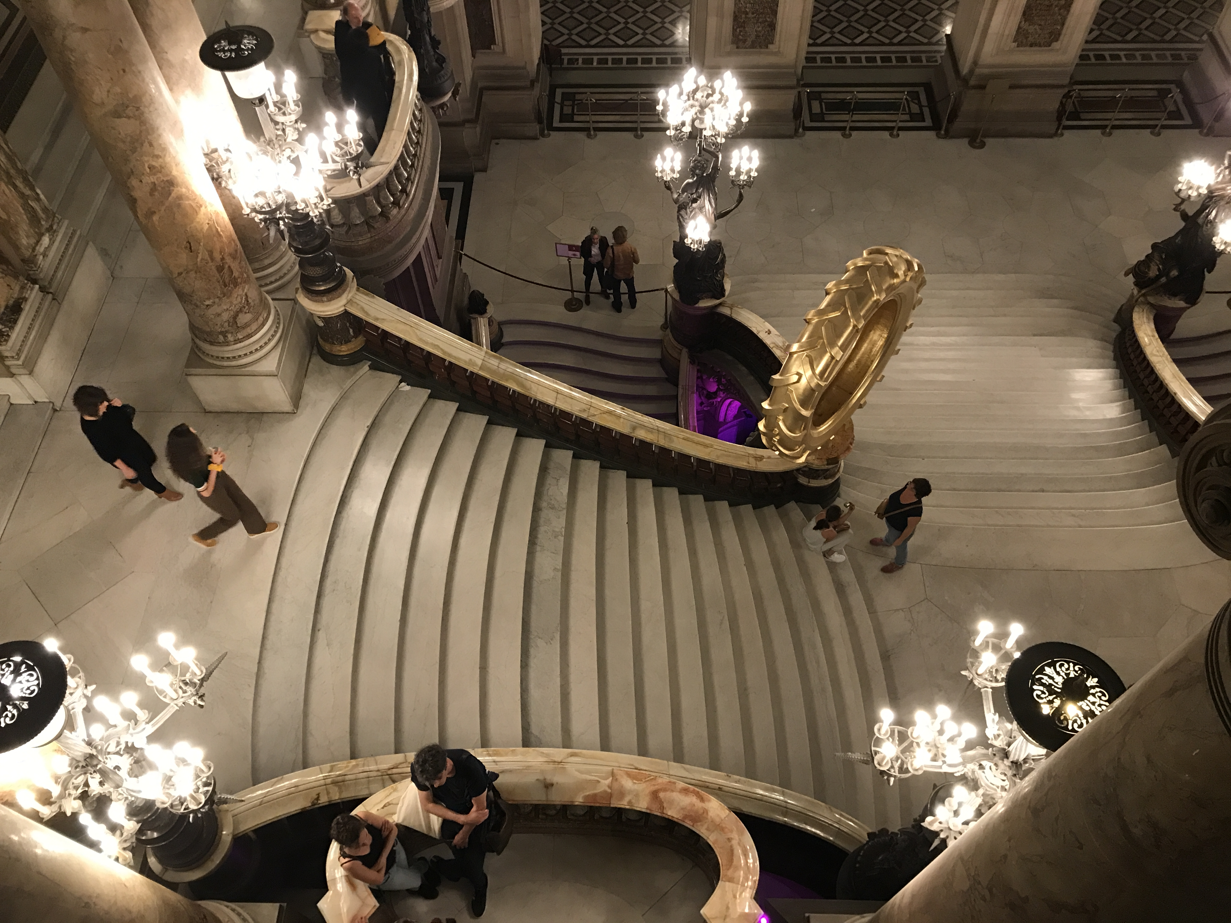 Marie à l'Opéra Garnier